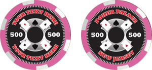 Poker chips template #117