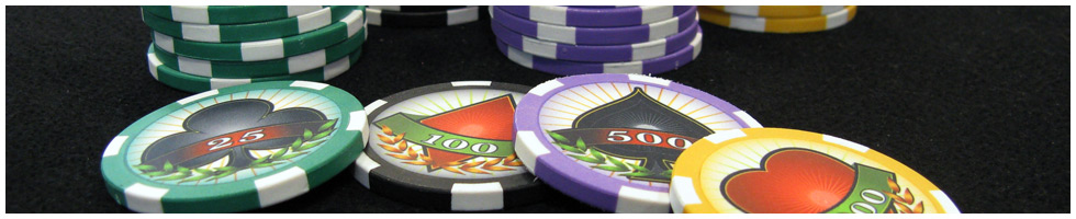 Custom Poker Chips Header: Pokerchips-Musterkollektion bestellen